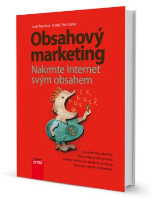 Kniha Obsahový marketing - Tomáš Procházka